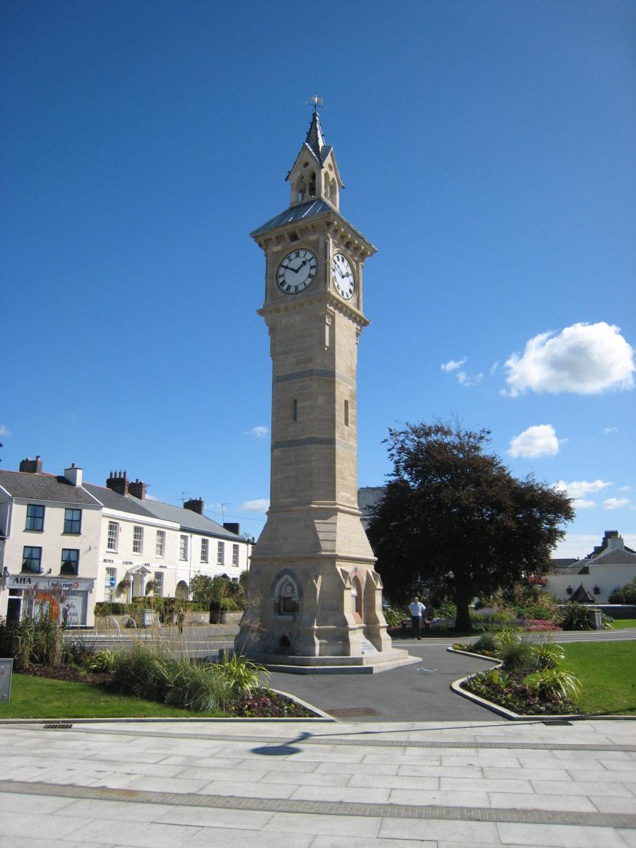 The Albert Clock on the 9th September 2009